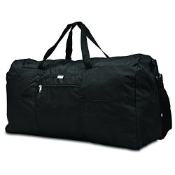 Samsonite Foldaway Duffle Extra Large Duffel Bag, Black, One Size