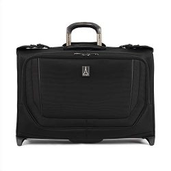 Travelpro Crew Versapack Carry-on Rolling Garment Bag, Jet Black