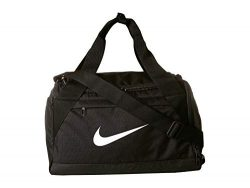 Nike Brasilia Training Duffel Bag (Extra-Small) (Black/White)