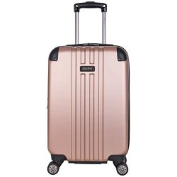 Kenneth Cole Reaction Reverb 20″ Hardside Expandable 8-Wheel Spinner Carry-on Luggage, Ros ...