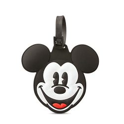 American Tourister Mickey Mouse Head Travel Accessory Luggage ID Tag