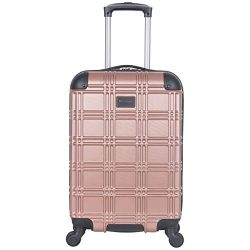 Ben Sherman Luggage Nottingham 20″ Embossed PAP 4-Wheel Carry-On