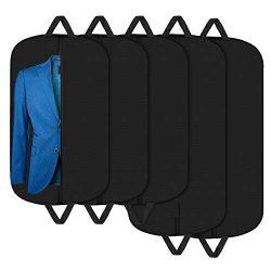 Aolerx Garment Bags Suit Bag for Travel Breathable Foldable Hanging Bag Suit Garment Cover for S ...