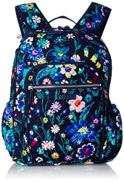Vera Bradley Signature Cotton Campus, Moonlight Garden