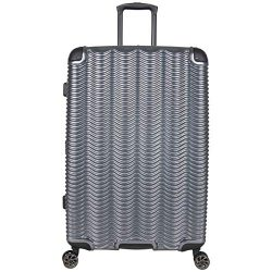 Kenneth Cole Reaction Wave Rush 28″ Lightweight Hardside 8-Wheel Spinner Expandable Checke ...