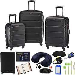 Samsonite 68311-1041 Omni Hardside Luggage Nested Spinner Set 20 Inch, 24 Inch, 28 Inch –  ...