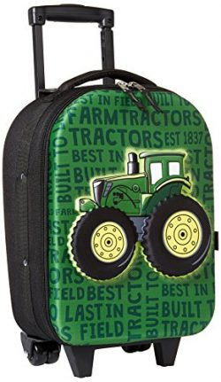 John Deere Boys' Little Roller Bag, green, One Size