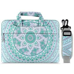 MOSISO Laptop Shoulder Bag Compatible with 17-17.3 inch MacBook/Notebook/Netbook/Chromebook, Can ...