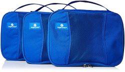 Eagle Creek Pack-It Half Cube Packing Set, Blue Sea, Set of 3