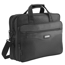 Laptop Bag 15.6 inch, Mens Laptop Briefcase, Expandable Carry on Computer Case, Business Office  ...