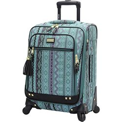 Steve Madden Luggage Legends 20″ Carry On Expandable Suitcase With Spinner Wheels
