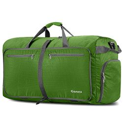 Gonex 100L Foldable Travel Duffel Bag for Luggage Gym Sports, Lightweight Travel Bag with Big Ca ...