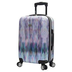 Steve Madden Hard Case Carry On 20″ Spinner Luggage (Diamond)