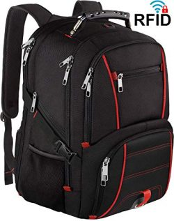 Extra Large Backpack,Travel Big Capacity TSA Friendly Durable Men Women Computer Backpack with U ...
