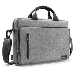 tomtoc 15.6 Inch Laptop Shoulder Bag for 16-inch New MacBook Pro, Multi-Functional Laptop Messen ...