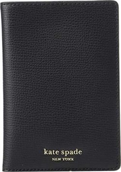 Kate Spade New York Women's Sylvia Passport Holder, Black, One Size