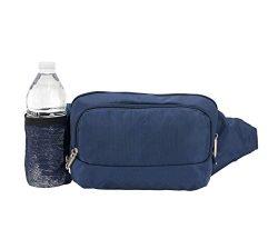 Travelon Anti-Theft Classic Waist Pack (Lush Blue)