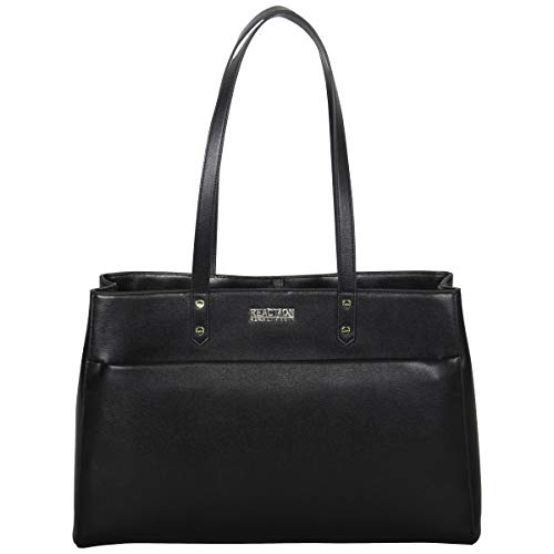 Kenneth Cole Reaction Women's Downtown Darling Faux Leather Dual Compartment 15″ Lap ...