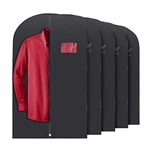 PLX Hanging Garment Bags for Storage and Travel – Suit Bag, Dress Shirt, Coat and Dress Co ...