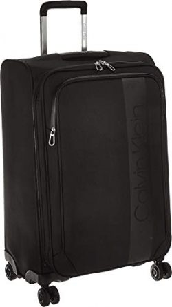 Calvin Klein Expandable Softside Spinner Luggag