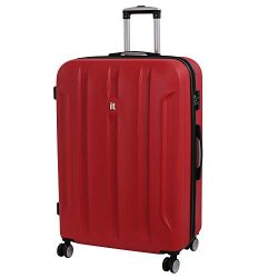 it luggage Proteus 31.7 Inch Hardside Checked Spinner Luggage (Racing Red)