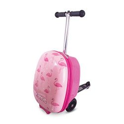 Zincflyte Kids Luggage Scooter 18″- Fifi The Flamingo