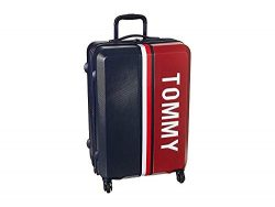 Tommy Hilfiger Hardside Spinner Luggage with TSA Lock, Navy