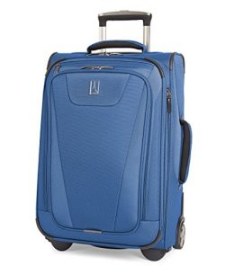 Travelpro Maxlite 4 22″ Expandable Rollaboard Suitcase, Blue