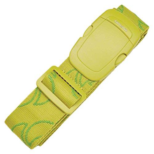 Samsonite Luggage Strap with Buckle, Vivid Green