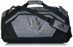 adidas Unisex Team Issue II Medium Duffel Bag, Onix Jersey, ONE SIZE