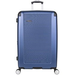 Ben Sherman Norwich 28″ Lightweight Hardside PET Expandable 8-Wheel Spinner Checked Suitca ...