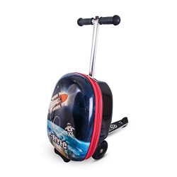 Zincflyte Kids Luggage Scooter 18″- Stephen The Spaceman