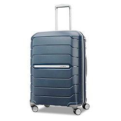 Samsonite Freeform Hardside Luggage, Navy, Checked-Medium