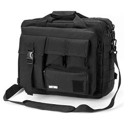 Military Briefcase,15.6 inch Men's Laptop Messenger Bag Tactical Briefcase Multifunction O ...