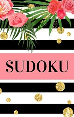 Sudoku: Small Travel Size Sudoku Puzzle Book | Pretty Pocket-Size Sudoku Puzzle Book for Adults  ...