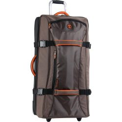 Timberland 30″ Wheeled Duffle Luggage Bag, Cocoa