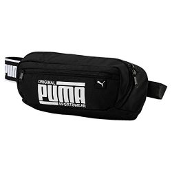 PUMA Belt Bag Sole Waist Bag, Puma Sportswear Logo – Black