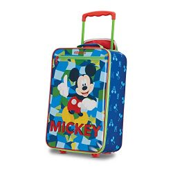 American Tourister Disney Kids Mickey Mouse Softside Upright, 18 Inch, 2