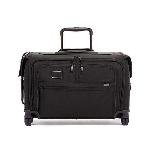 TUMI – Alpha 3 Garment Bag 4 Wheeled Carry-On Luggage – 22 Inch Dress or Suit Bag fo ...