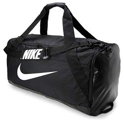 Nike BRASILIA 101L XL Black Duffel Bag