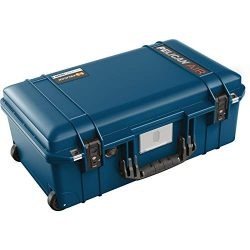 Pelican Air 1535 Travel Case – Carry On Luggage (Blue)