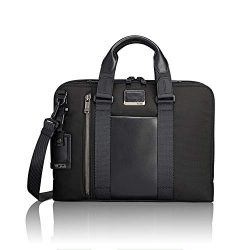 TUMI – Alpha Bravo Aviano Laptop Slim Brief Briefcase – 15 Inch Computer Bag for Men ...