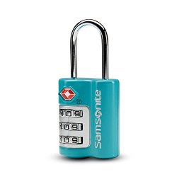 Samsonite Combination Lock, Emerald Teal
