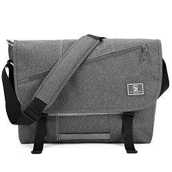 OIWAS Messenger Bag Shoulder Satchel Leisure 15.6 Inch Laptop Briefcase Sling Crossbody School W ...