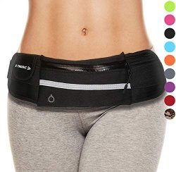 Running Belt Fanny Pack: Best Waist Packs Phone Holder Black Waistband Money Pouch Bag Top Gifts ...