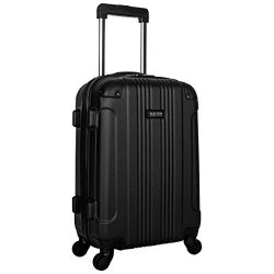 Kenneth Cole Reaction Out Of Bounds 20-Inch Carry-On Lightweight Durable Hardshell 4-Wheel Spinn ...