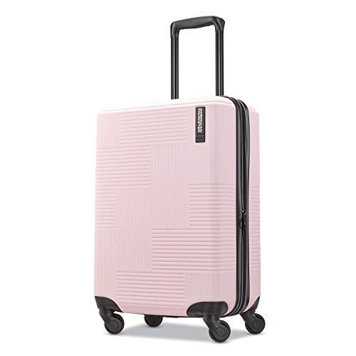 American Tourister Stratum XLT Hardside Luggage, Pink Blush, Carry-On