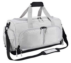 Ultimate Gym Bag 2.0: The Durable Crowdsource Designed Duffel Bag with 10 Optimal Compartments I ...