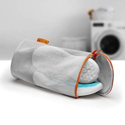 Jazba Shoes Washing Bags Laundry Bag Sneaker Mesh Wash Cleaning Bag with Durable Zipper Sneakers ...