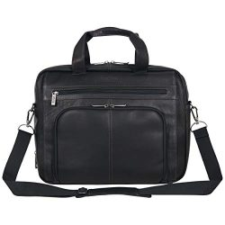 Kenneth Cole Reaction Reaction Manhattan Colombian Leather Expandable RFID 15.6″ Laptop Bu ...